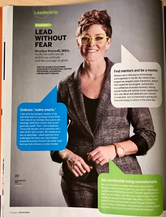Heather Pownall shares leadership lessons with Associations Now in June 2017.
